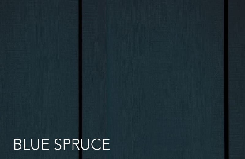 blue spruce: everlast siding colors