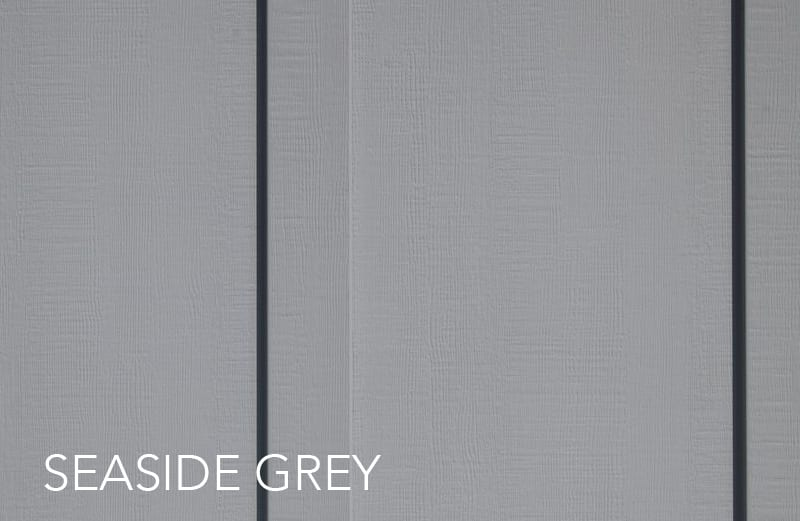 seaside grey: everlast siding colors